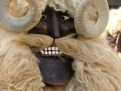 Szörnyek is jártak az árusoknál (fotó: mohacsibusojaras.hu)