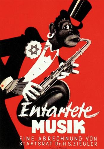 A zene elkorcsosulásának korabeli ábrázolása