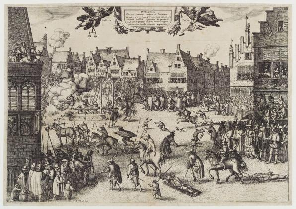 Guy Fawkes és társai kivégzése