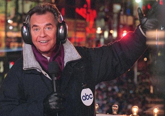 Dick Clark a Times Square-en