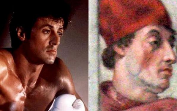 Valóban, Stallone ez bíborban