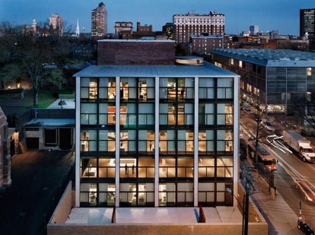 Yale Egyetem, Szobrász épület és galéria
