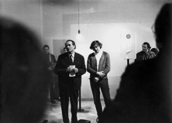 Csiky Tibor (balra)  fotó: Gadányi György