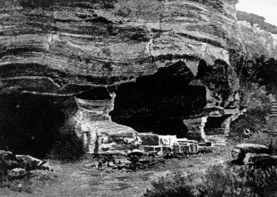 A barlanglakások