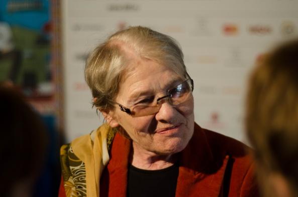 Törőcsik Mari a sajtótájékoztatón - fotó: Jakab-Benke Nándor