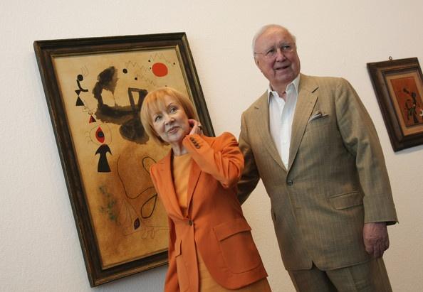 A kedves házaspár és Miró napfelkeltéja. (Fotó: Sean Gallup/Getty Images Europe)