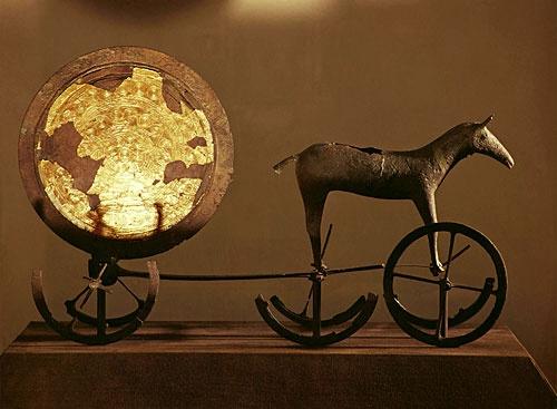 A 3500 éves Trundholmi Napkocsi