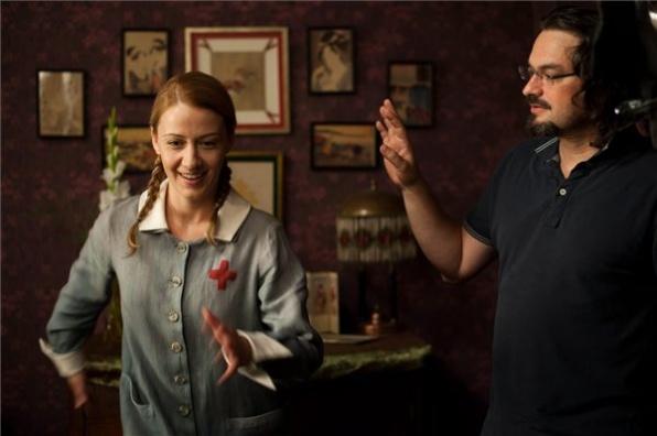 Ujj Mészáros Károly, és a Liza szerepét alakító Balsai Mónika (MTI Fotó: Kallos Bea)