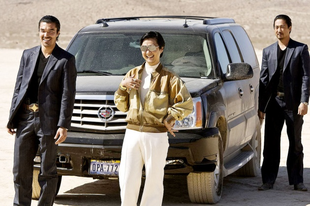 Mr. Chow a sivatagban