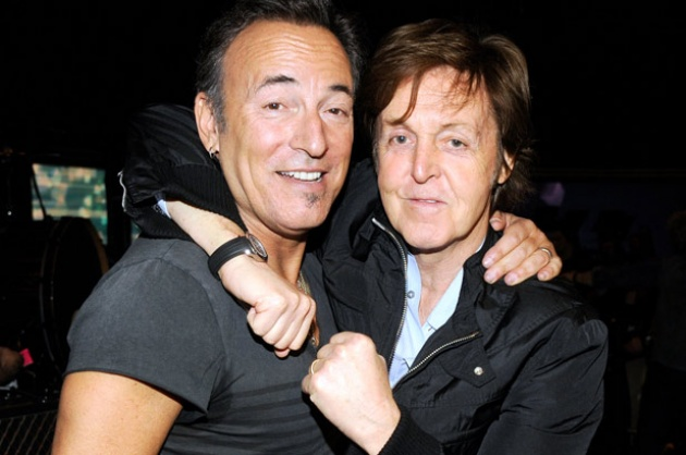 Bruce Springsteen és Paul McCartney