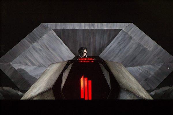 Skrillex legalább jól nézett ki (fotó: MTI)