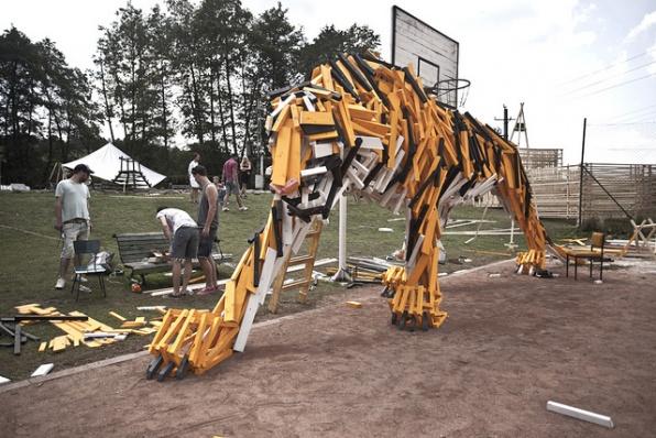 Tigris (Szakácsi) - Szőke Gábor Miklós; fotó: Hello Wood dokumentációs csapat