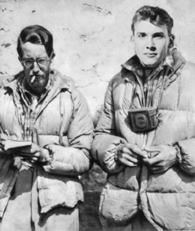 George Mallory és Andrew Irvine