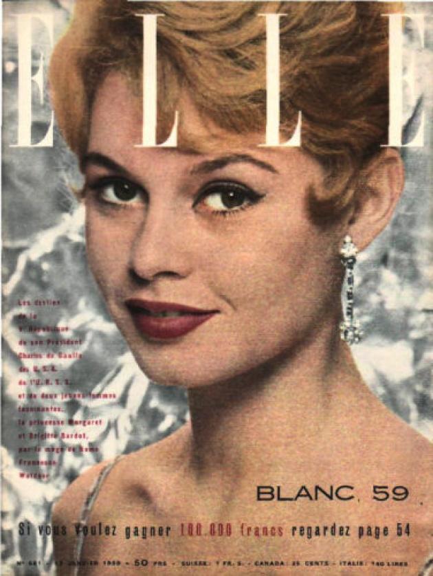 Az 1950-es ELLE címlap