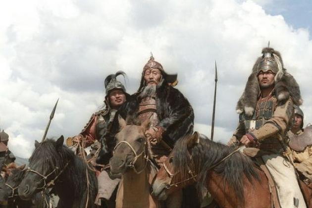 Részlet a Dzsingisz kán tiltott sírja című filmből
