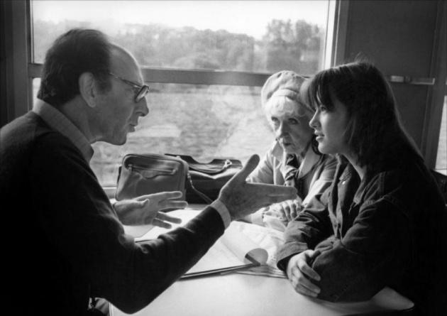 Claude Pinoteau, Denise Grey és Sophie Marceau (Fotó: melty.fr)