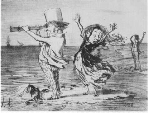 Honoré Daumier grafikája