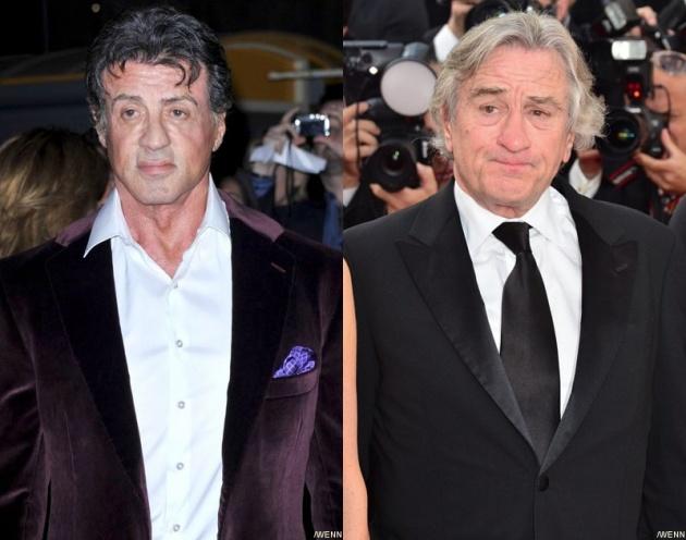 Stallone és De Niro már készül a nagy mérkőzésre