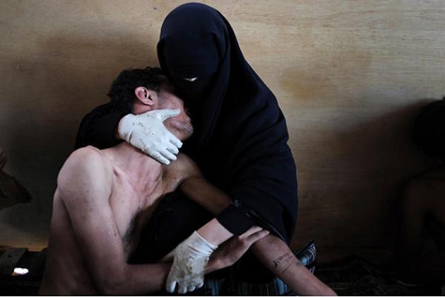 Samuel Aranda spanyol sajtófotós fődíjas képe (Jemen)