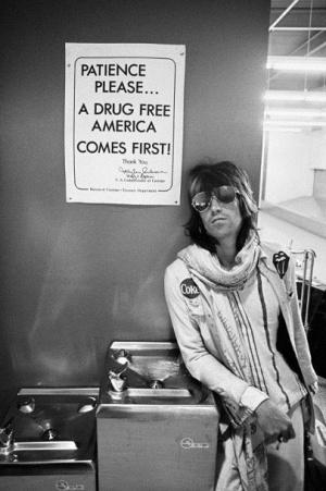 """Keith Richards türelmes, hiszen """"a drogmentes Amerika az első"""""""