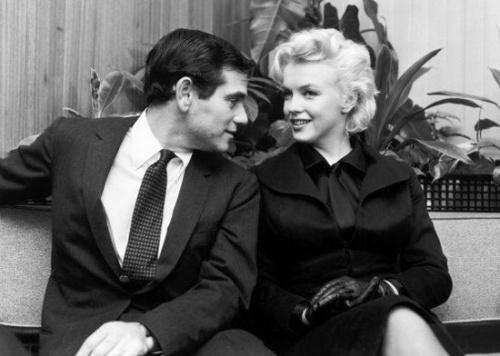 Milton Green és Marilyn Monroe