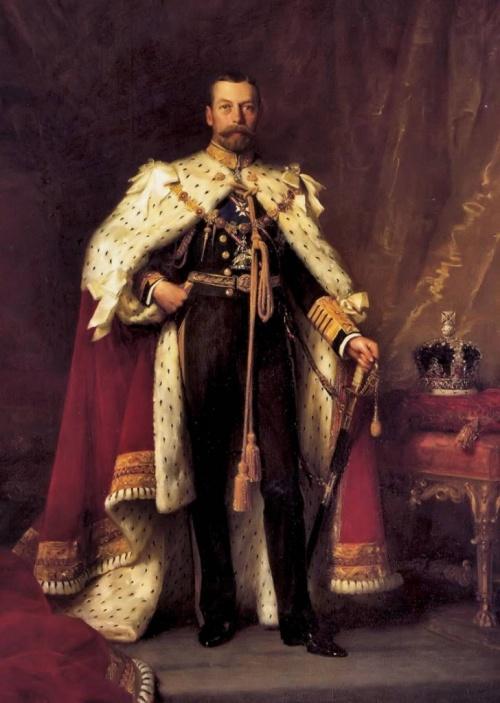 V. György király 16 éves tengerészkadétként örökítette meg a Bolygó Hollandival történt váratlan találkozóját