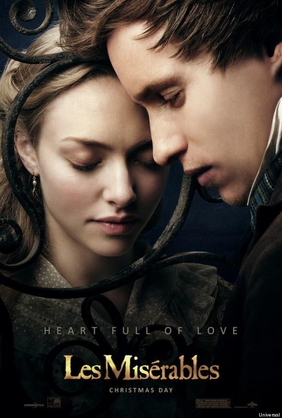 Cosette és Marius: Amanda Seyfried és Eddie Redmayne (Fotó: Huffington Post)