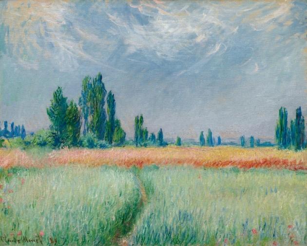 Claude Monet: Champ de blé (1881)