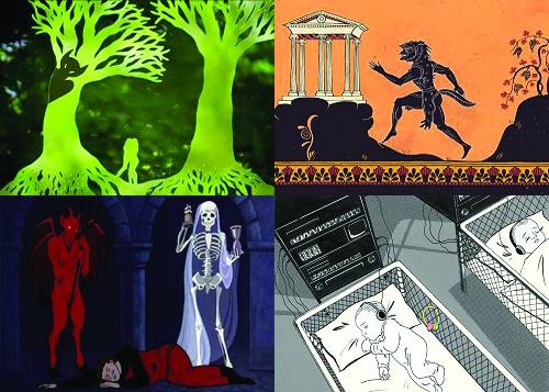 Jelenetek Az ember tragédiája animációs filmből