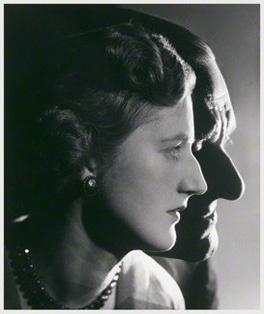 T.S. Eliot és Valerie Eliot (Fotó: Angus McBean, National Portrait Gallery)