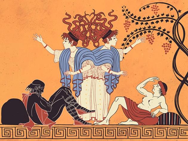 V. szín: Athén - Éva Miltiádséz feleségeként