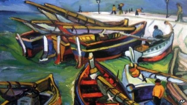 Irma Stern: Fishing Boats (fotó: bbc.co.uk)