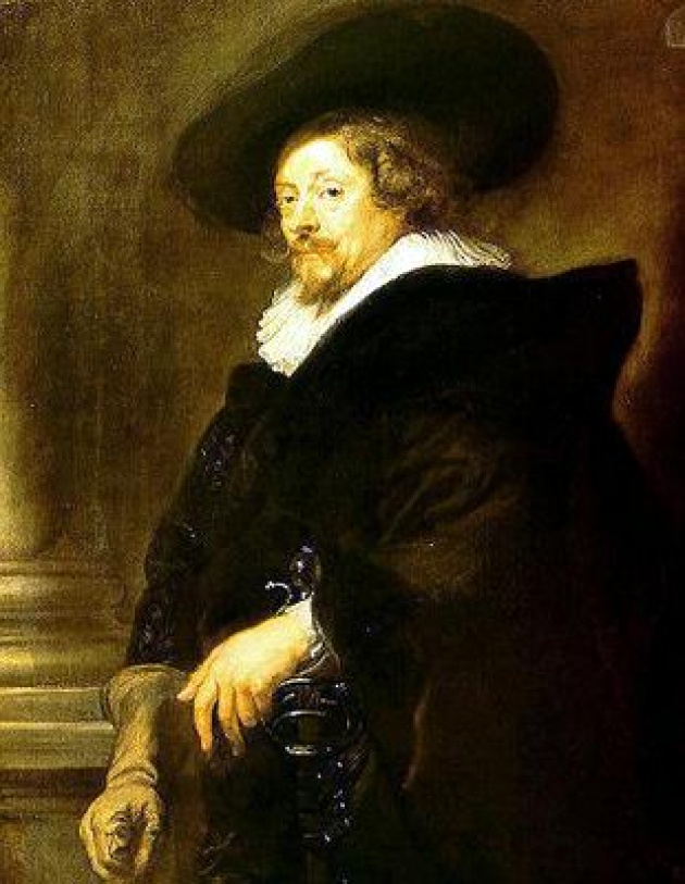Rubens: Önarckép (1639)