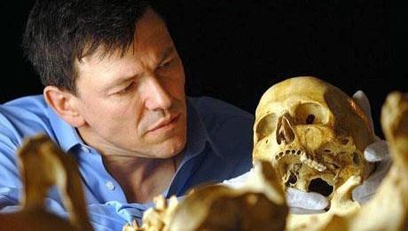 A megtalált koponyák egyike (Fotó: explorerworld.hu)