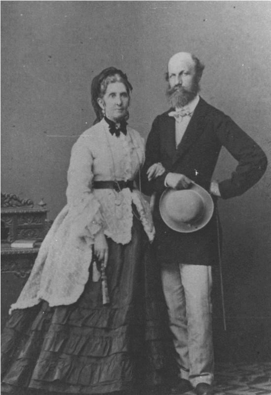 Laborfalvi Róza és Jókai Mór (1873)