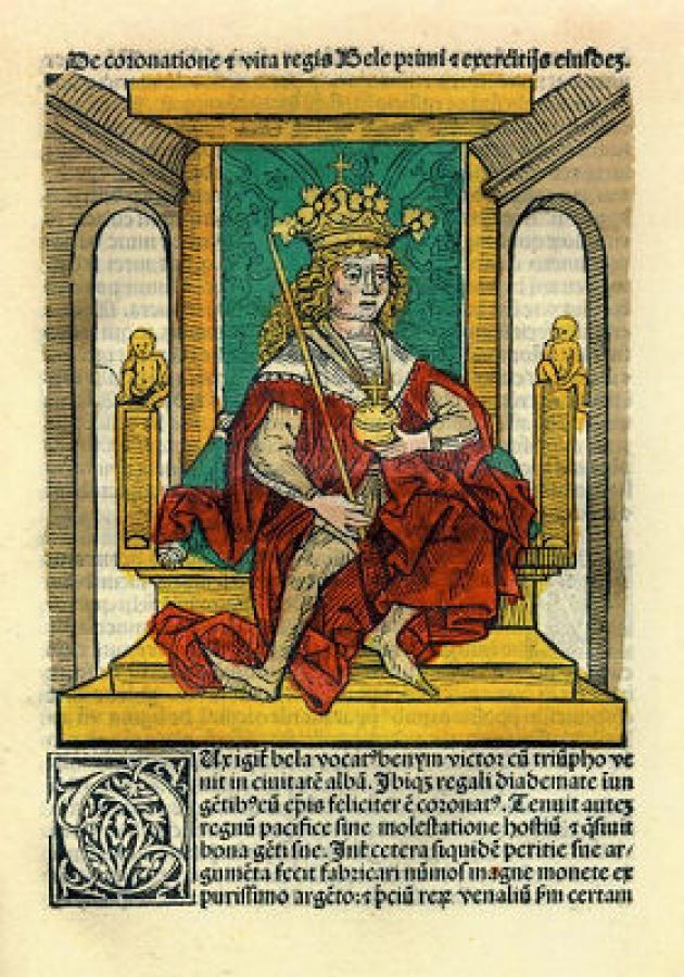 I. Béla portréja
