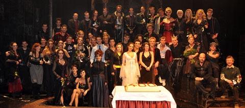 A négyszázadik előadás 2009. december 29-én (Fotó: operettszinhaz.hu)