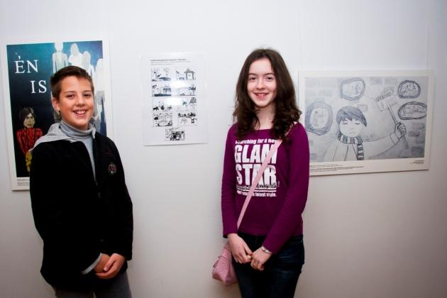 Bóta Botond és Troffen Krisztina a mezőcsáti Egressy Béni Általános és Alapfokú Művészeti Iskolából érkeztek.