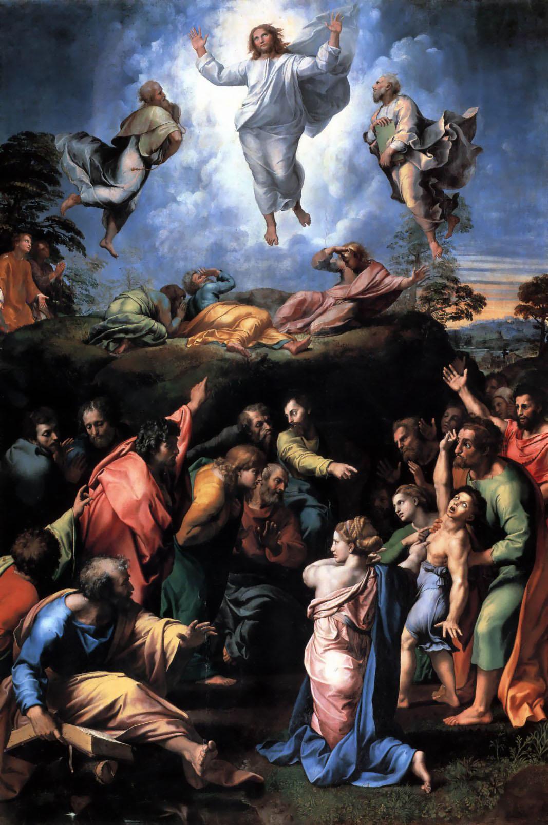 Raffaello: Megdicsőülés