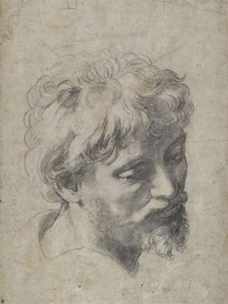 Raffaello: Az Apostol feje