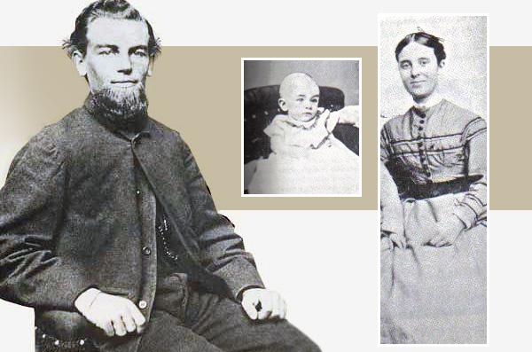 Briggs kapitány felsége és kislánya, akiket magával vitt a Mary Celeste első útján, és akiknek vele együtt rejtélyesen nyoma veszett