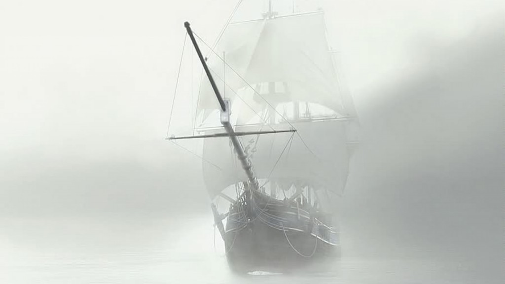 Amikor Deveau elsőtiszt matrózaival a kísérteties vitorlás felé evezett, egyre komorabban magasodott föléjük az elhagyatott Mary Celeste oldala