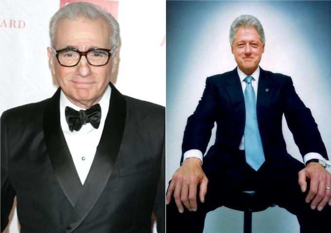 Scorsese és Clinton
