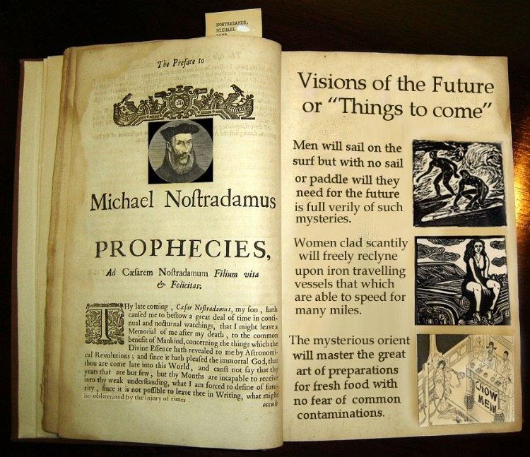 Nostradamus próféciáinak egyik kiadása
