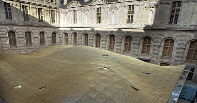 A Louvre új iszlám szárnya