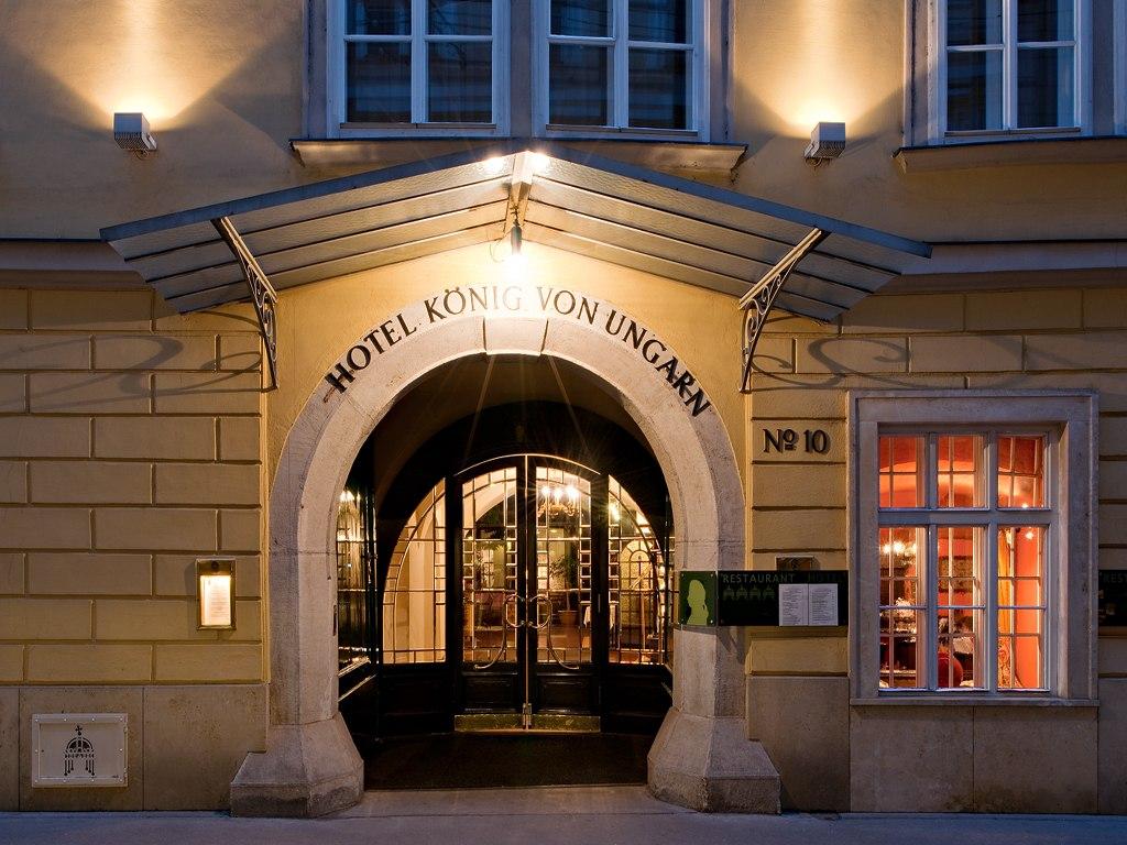 Hotel König von Ungarn - a Stephansdom mellett