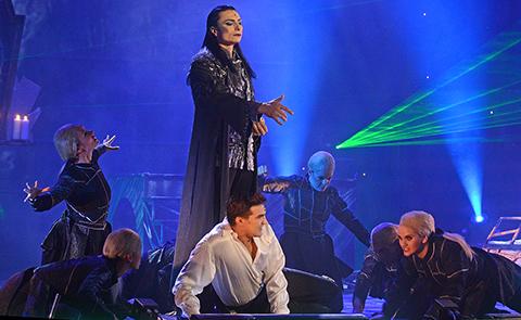 Részlet az Elisabeth musicalből (Fotó: tiszatajonline.hu)