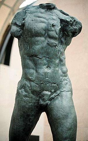 Rodin torzója: Sétáló ember (1900)