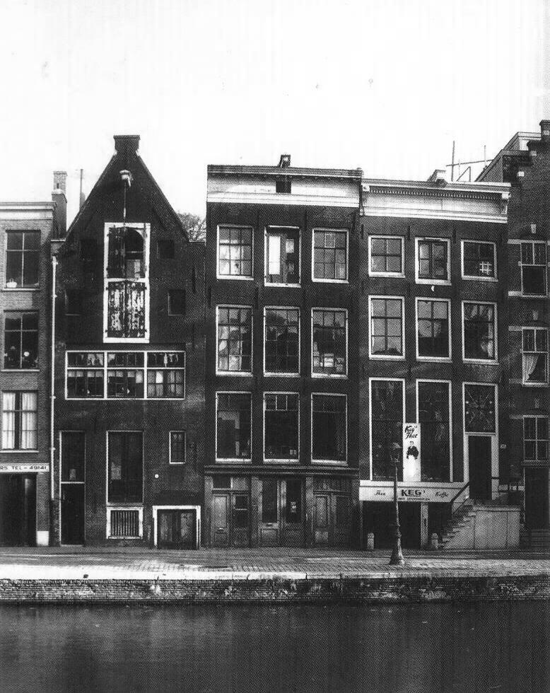 Az Anne Frank Ház Amszterdamban