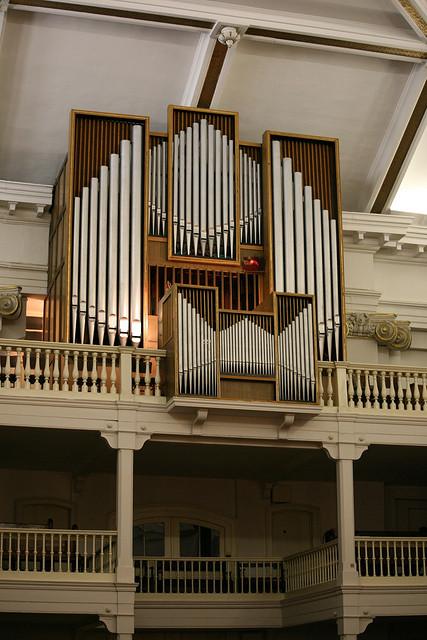 Orgona a Deák téri evangélikus templomban